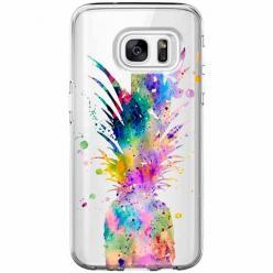 Etui na Galaxy S7 Edge - Ananasowa eksplozja.