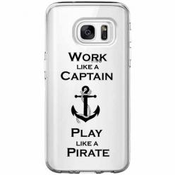 Etui na Galaxy S7 Edge - Work like a Captain…
