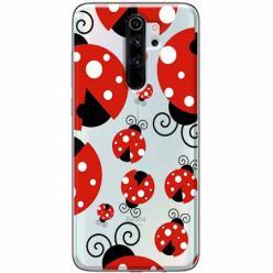 Etui na Xiaomi Redmi Note 8 Pro - Czerwone  biedronki.