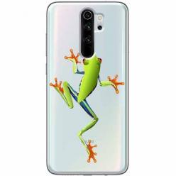 Etui na Xiaomi Redmi Note 8 Pro - Zielona żabka.