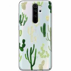 Etui na Xiaomi Redmi Note 8 Pro - Kaktusowy ogród.