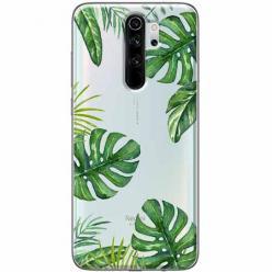 Etui na Xiaomi Redmi Note 8 Pro - Zielone liście palmowca