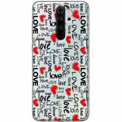 Etui na Xiaomi Redmi Note 8 Pro - Love, love, love…