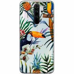 Etui na Xiaomi Redmi Note 8 Pro - Egzotyczne tukany.