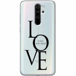 Etui na Xiaomi Redmi Note 8 Pro - All you need is LOVE.