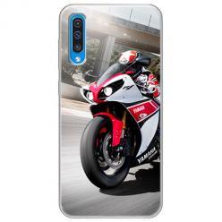 Etui na Samsung Galaxy A70 - Motocykl ścigacz