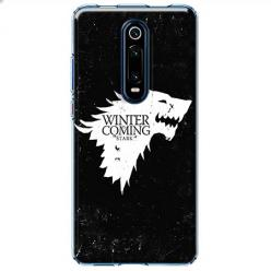 Etui na Xiaomi Mi 9T Pro - Winter is coming White