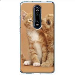 Etui na Xiaomi Mi 9T - Jak pies z kotem