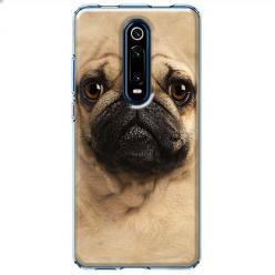 Etui na Xiaomi Mi 9T - Pies Szczeniak face 3d