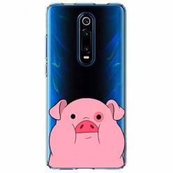 Etui na Xiaomi Mi 9T - Słodka różowa świnka.