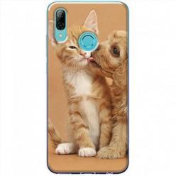 Etui na Huawei P Smart Z - Jak pies z kotem