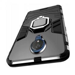 Etui na Motorola Moto G7 Power - pancerne - Czarny.