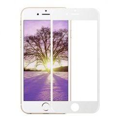 iPhone 5c Hartowane szkło na cały ekran 3d - Biały.
