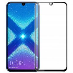 Huawei honor 10 Lite hartowane szkło 5D Full Glue - Czarny