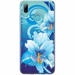 Etui na Huawei P Smart Z - Niebieski kwiat północy.