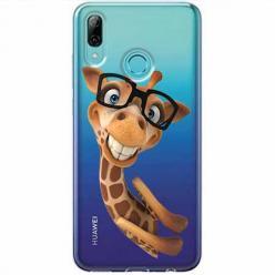 Etui na Huawei P Smart Z - Żyrafa w okularach.