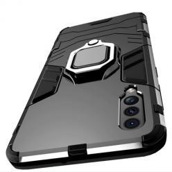 Etui na Xiaomi Mi A3 - pancerne - Czarny.