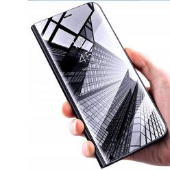 Etui na Huawei Nova 5T - Flip Clear View z klapką - Czarny