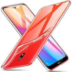 Etui na Xiaomi Redmi 8A silikonowe crystal clear - bezbarwne.