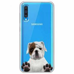 Etui na Samsung Galaxy A30s - Słodki szczeniaczek.