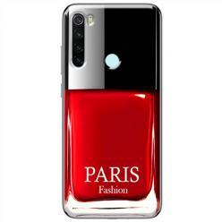 Etui na Xiaomi Redmi Note 8T - Czerwony lakier do paznokci