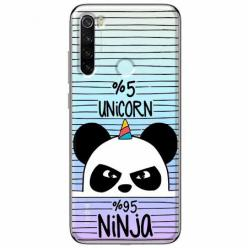 Etui na Xiaomi Redmi Note 8T - Ninja Unicorn - Jednorożec.